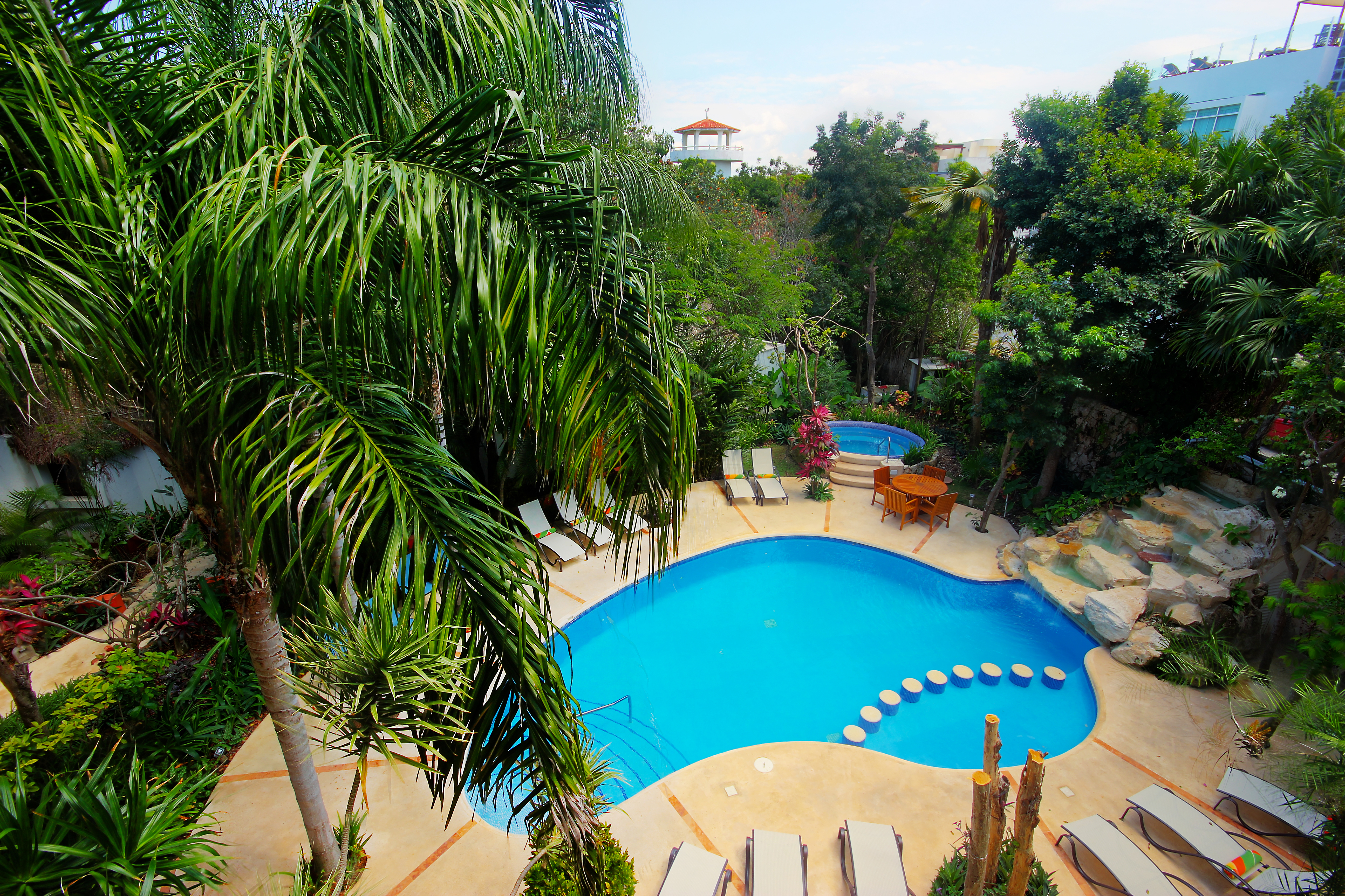An incomparable private oasis! / un Oasis Privado incomparable!