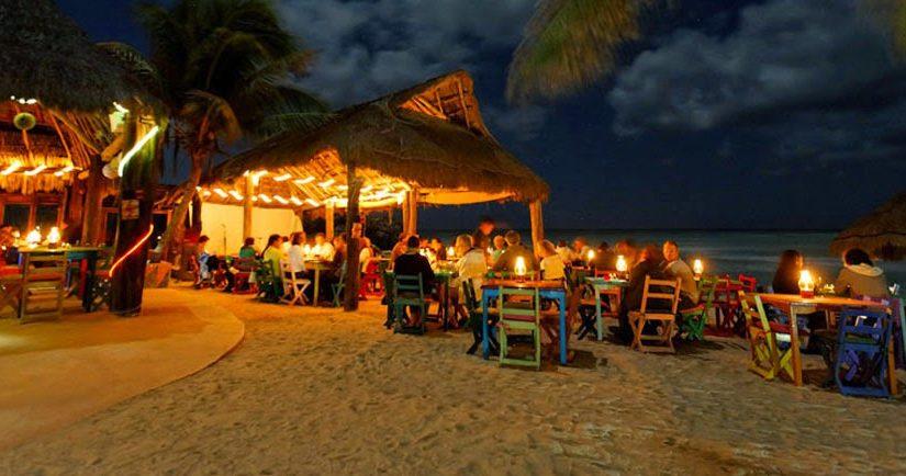 A Cosmopolitan small town: Playa del Carmen.