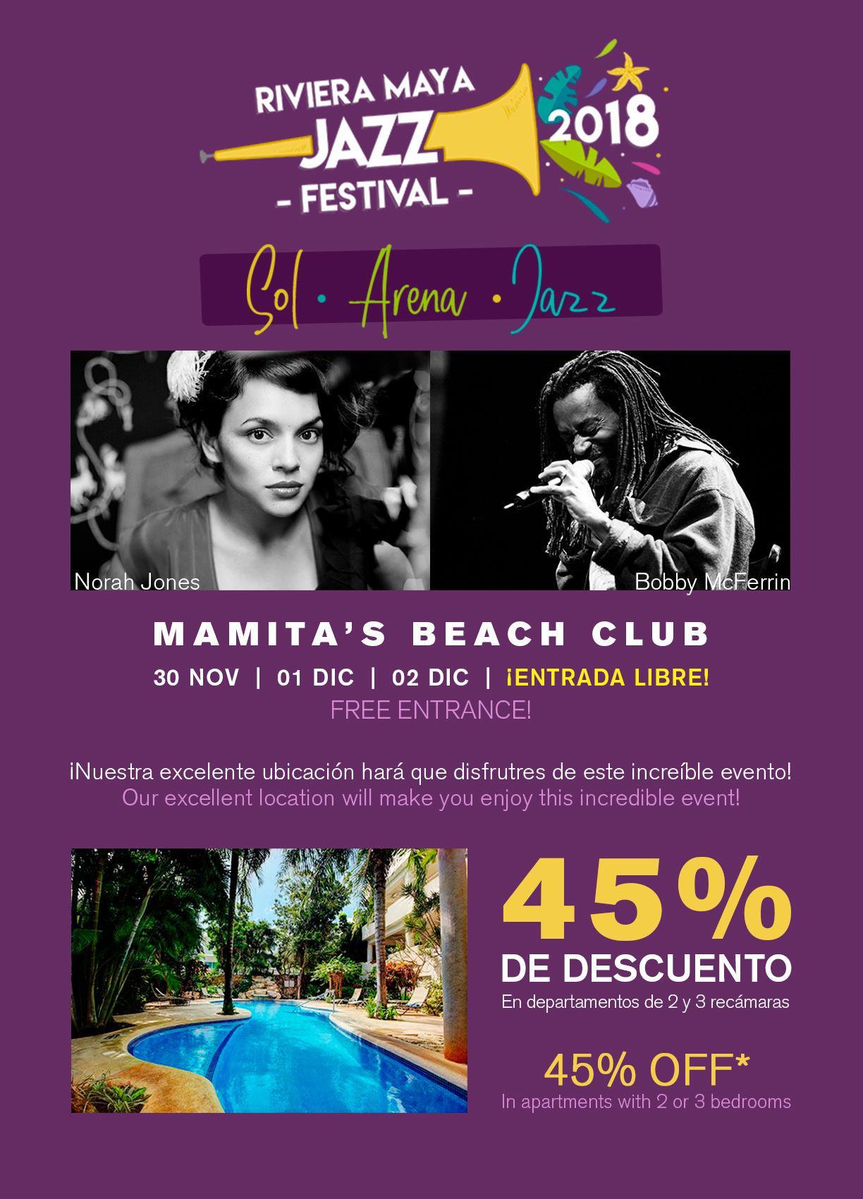 JAZZ FESTIVAL DE LA RIVIERA MAYA